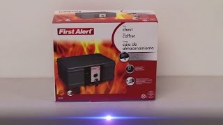 First Alert 2011F UL Classified Fire Chest