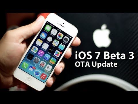 How To Install iOS 7 Beta 3 - OTA For iPhone 5/4S/4 iPod Touch 5G iPad 2/3/4 & iPad Mini