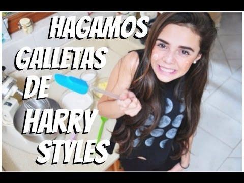 COCINANDO GALLETAS DE HARRY STYLES ♡ -MarianaBonilla