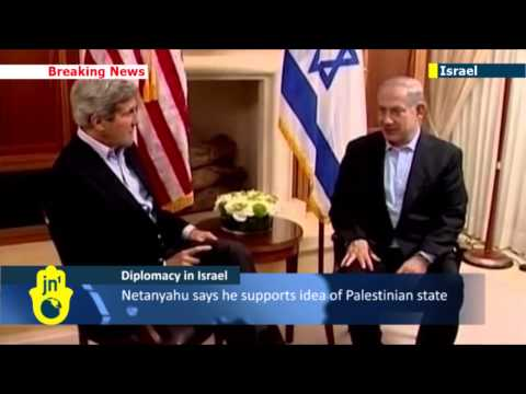 John Kerry meets Israeli PM Benjamin Netanyahu in Jerusalem in effort to revive peace talks