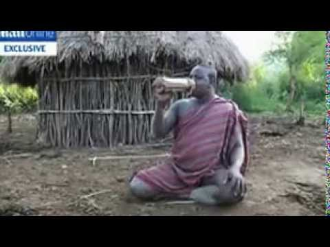 Ethiopian Bodi Tribe Where Big Is Beautiful And Men Compete To Be The Fattest video