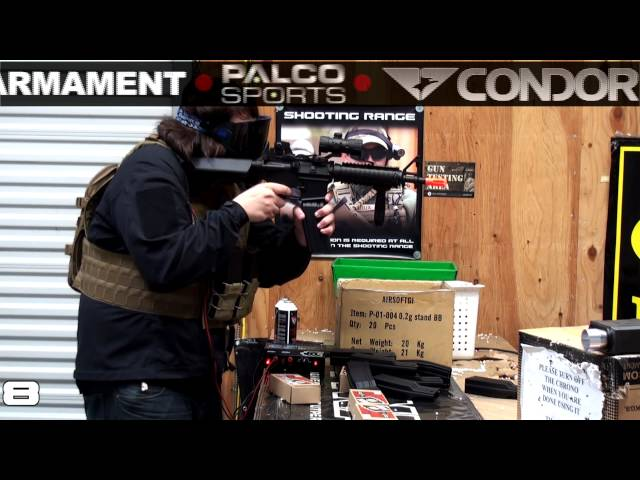 Airsoft GI - Lancer Tactical MK18 CQBR Stress Test With 10 Echo 1 FAT Magazines