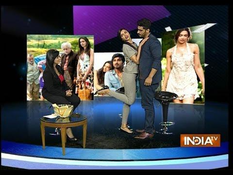 Deepika Padukone, Arjun Kapoor 'Finding Fanny' at India TV