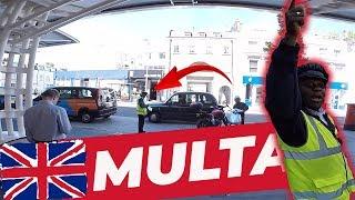 #55 - GUARDA ME MULTANDO ENQUANTO COMPRAVA MEU ALMOÇO   MOTOBOY EM LONDRES   MOTO filmadores UK