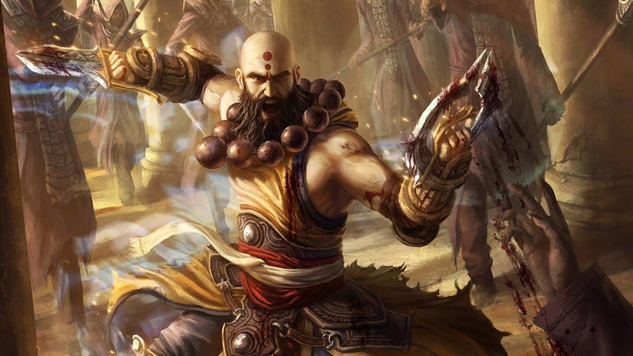 Diablo 3 nude monk hentia movie