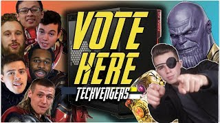 VOTE HERE! Avengers Infinity War Gaming PC Build Off! - Techvengers 2018