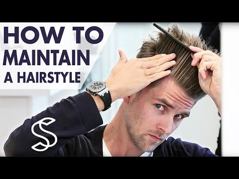 How to maintain a hairstyle ★ Undercut and volume ★ Men's hair inspiration by Slikhaar TV