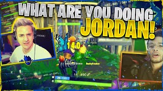 WHAT ARE YOU DOING JORDAN?! Fortnite Squads ft. SypherPK, Reverse2K & JordanFisher