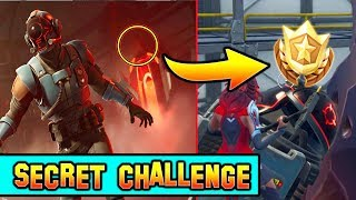 SECRET Week 7 Battlestar location! (Blockbuster #7) Fortnite Battle Royale Week 7 Challenges!