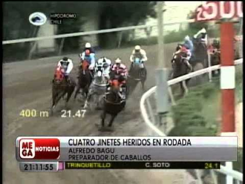 Accidente en hipódromo