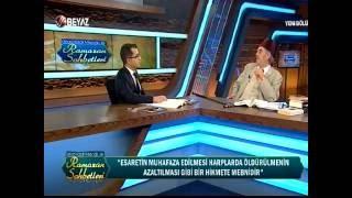 Kadir Mısıroğlu İle Ramazan Sohbetleri (Beyaz Tv - 18 Haziran 2016)