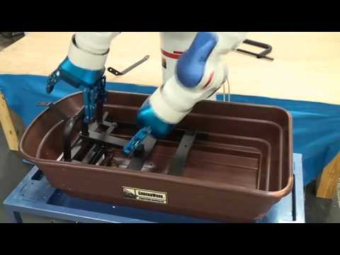 Robotic Kitting: Yaskawa Motoman Dual Arm with Robotiq Grippers
