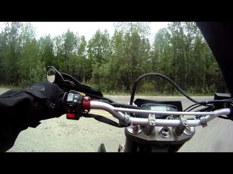 Righteous stunt clutch lever shorty style on wr250x