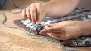 How to Crochet Edging on a Baby Blanket : Crafting Projects & Cleaning