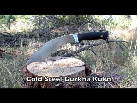Cold Steel Gurkha Kukri In Field Review