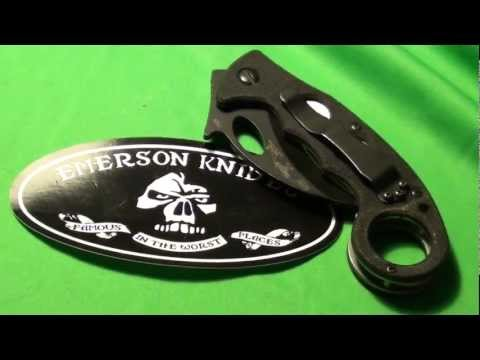 emerson combat karambit  review