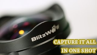 BlitzWolf®BW LS3 Camera Lens 120° Wide Angle Lens With Universal Locust Clip
