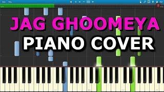 JAG GHOOMEYA Piano Cover|SULTAN|Chords+Tutorial+Note|Rahat Fateh Ali Khan|Salman Khan|Anushka Sharma