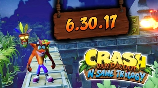 FECHA OFICIAL, CRASH 2 GAMEPLAY & MÁS! (Crash Bandicoot N.Sane Trilogy Noticias)