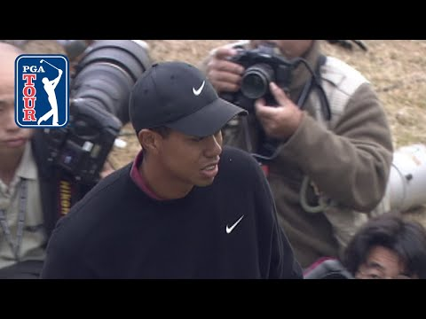 Tiger Woods relives dramatic chip-in at 2001 WGC-EMC World Cup