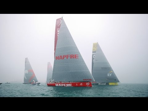 Leg 3 Start Replay | Volvo Ocean Race 2014-15