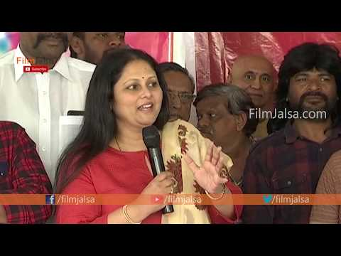 Actress Jayasudha Superb Speech @ Actor Naresh Birthday Celebrations   Film Jalsa