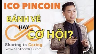 REVIEW ICO PINCOIN- Bánh Vẽ Lừa Đảo Hay Cơ Hội Mới Cho 2018. Hãy Xem phân tích dự án nhé