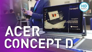 ACER ConceptD: portatili, PC desktop e monitor per CREATORS