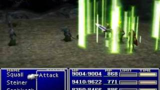 Final Fantasy VII - Rare Enemy Attacks