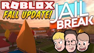 NEW JAILBREAK FALL UPDATE GAMEPLAY   Family Friendly Roblox Lets Play Livestream 2018