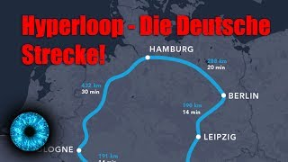 Hyperloop - Deutsche Strecke geplant! - Clixoom Science & Fiction