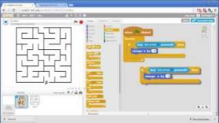 Maze - Invent with Scratch 2.0 Screencast