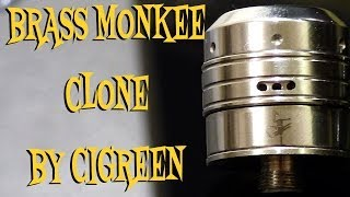 Brass Monkee RDA Clone by Cigreen Review