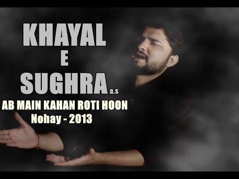 Khayal E Sughra S.a (ab Mea Kahan Roti Houn) Syed Raza Abbas Zaidi 2013 video