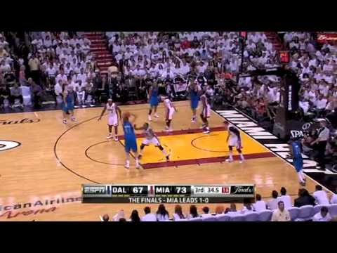 NBA Finals 2011: Dallas Mavericks Vs Miami Heat Game 2 Highlights (1-1) Nowitzki Game Winner