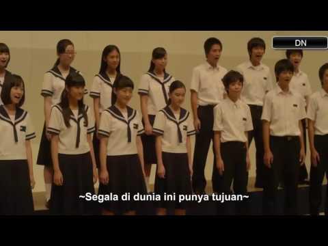 Tegami.!! Paduan Suara Anak Remaja Jepang. Merinding Dengarnya