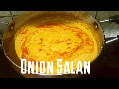 Restaurant style Onion Salan l Briyani gravy l Dhinik cooking