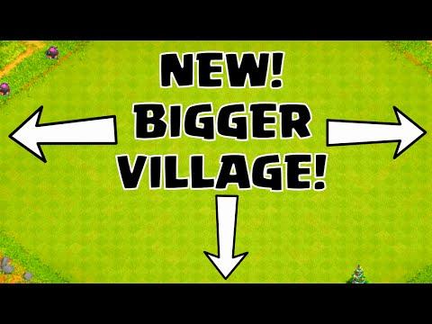 Clash of Clans NEW BIGGER VILLAGE AREA LONGER ATTACK TIME ★ COC TH11 2015 WINTER UPDATE SNEAK PEEK ★