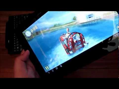 Asus Transformer Pad TF300T Unboxing - Quad-core Android 4.0 Tablet With Keyboard Dock