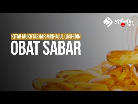 Obat Sabar -Ustadz Ahmad Zainuddin Al Banjary