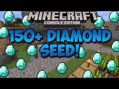 Minecraft Xbox & Playstation: TONS OF DIAMONDS SEED! 150+ Diamonds! | [Xbox 360, Xbox One, PS3, PS4]