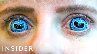 How Contact Lenses Are Made For Movies | Movies Insider