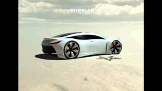 "NEW FERRARI 4 DOOR SUPER SPORTS CAR ""LEBANON"" CONCEPT"