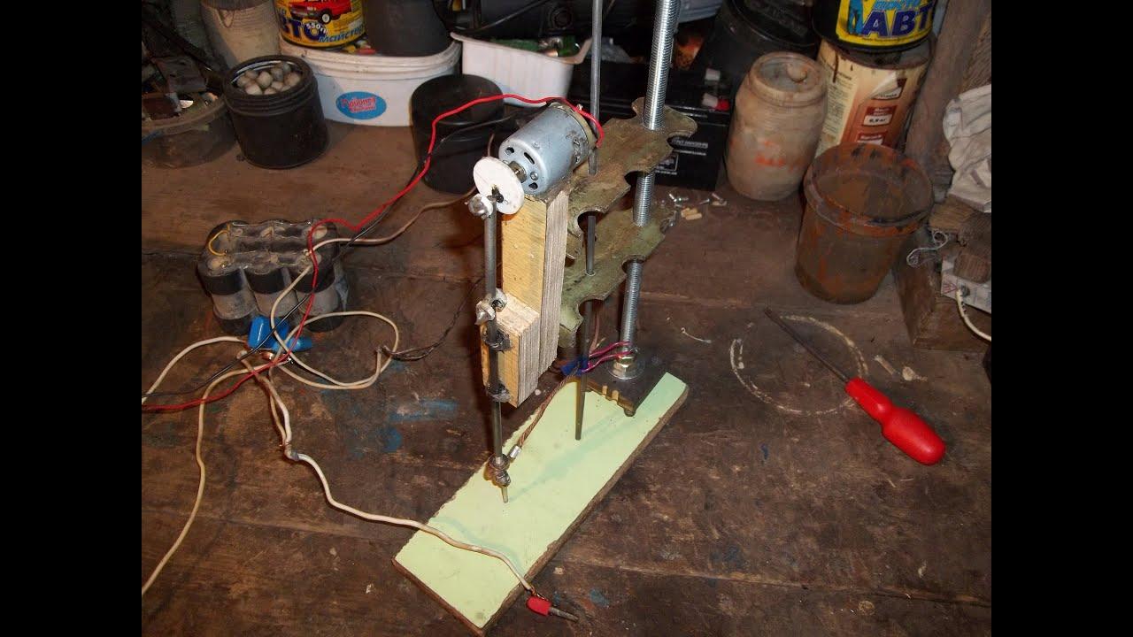 Как сделать электрохимическую установку