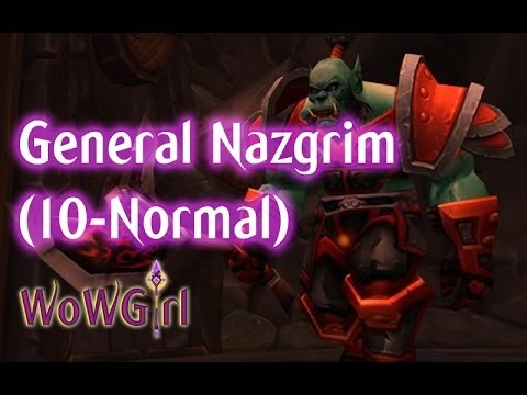 Cerco A Orgrimmar - General Nazgrim - Wow video