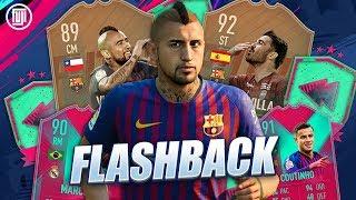 FLASHBACK 89 VIDAL & 92 VILLA!!! FUT BIRTHDAY GOD SQUAD! FIFA 19 Ultimate Team
