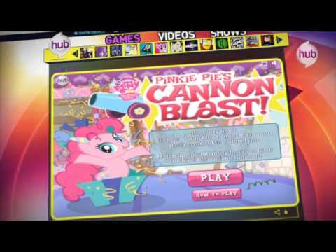 Pinkie Pie Cannon Blast - Game of the Week (Promo) - The Hub