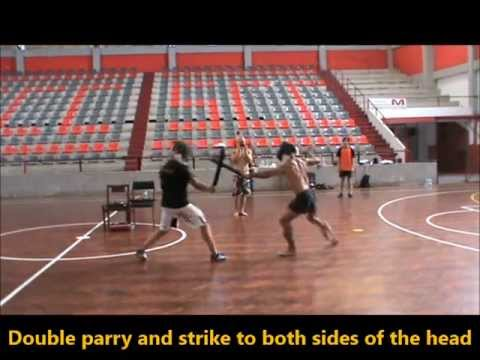 FMA-Portugal - Stick fighting techniques in live sparring Image 1