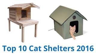 10 Best Cat Shelters 2016