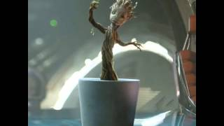 Music Audio Baby Groot Dancing To Jackson 5 I Want You Back